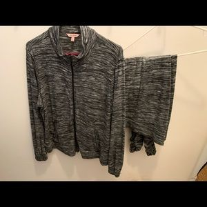 Juicy Couture Track Suit with Rhinestones